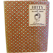 "1929: Signed Edition, "" Hitty "" by Rachel Fields"