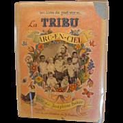 "1957: Signed First Edtion, "" La Tribu Arc-En- Ciel "" by Josephine Baker"