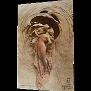 """"""" Mad Intoxication """" Domenico Mastroianni Postcard"""