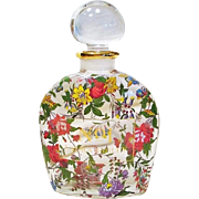 Original Hand Painted Large Display Laura Ashley Perfume Bottle
