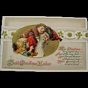 """1914: Samuel Schmucker / John Winsch """" Santa Claus """" Postcard"""