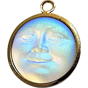 "Saphiret "" Man In The Moon "" Pendent"