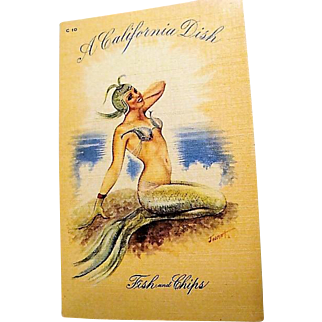 "1930's - 1940's : Complte Set of ""  Pin Up "" Postcards by Jusmet Jolie"