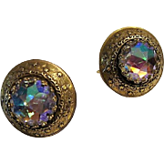 Pre 1955:  PAT. PEND. Vendome Earrings