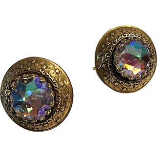 Pre 1955:  PAT. PEND. Vendome Earrings