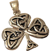 Solid Sterling Celtic Cross