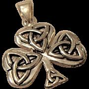 Solid Sterling Celtic Cross