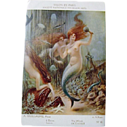 "Salon De Paris "" Mermaids"" Postcards"