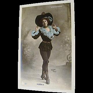"Hand Tinted Walery Postcard "" Noedia"""