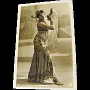 """Original """" Mata Hari """" Walery Postcard"""