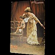 "Original Tuck's Valentines Postcard, "" Mother's Little Angel """