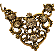 """Victorian Gothic Style """" Coro"""" Chocker Necklace"""