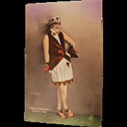 "Casino de Paris "" Valentine Vixen ""  Postcard"