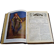 "Circa 1910: "" Every Woman's Encyclopaedia "" Volume Two"