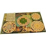 "1910 : Original Mechanical Halloween Postcard, "" The Fortune Teller """