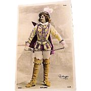 "Circa 1900: RPP ofStage Performer "" Kerlord "" by Reutliniger"