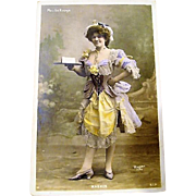 Original Turn of the Century Moulin Rouge Dance Hall Girl