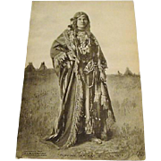 1907:  Min- Ne- Ha- Ha  Native American Postcard