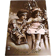 1913: French RPP Christmas Postcard