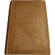 "1858: First Edition of , "" The Courtship of Miles Standish "" by Henry Wadsworth Longfellow"