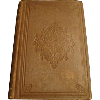 """1858: First Edition of , """" The Courtship of Miles Standish """" by Henry Wadsworth Longfellow"""