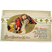 1914: John Winsch Christmas Postcard