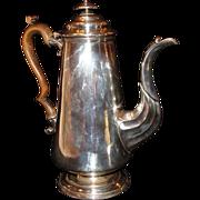 "Circa 1790:*Georgian Sheffield Coffee Pot with Engraved ""  Mermaid ""  by Matthew Boulton"