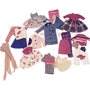 Vintage Ideal Tammy Doll Clothes and accessories