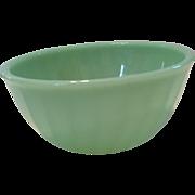 6 in Fire King Jadeite Swirl Mixing bowl