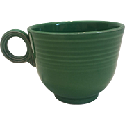 Vintage Medium Green Fiesta Cup - Red Tag Sale Item