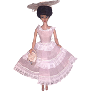 Brunette Bubble Cut Barbie in Plantation Belle #966