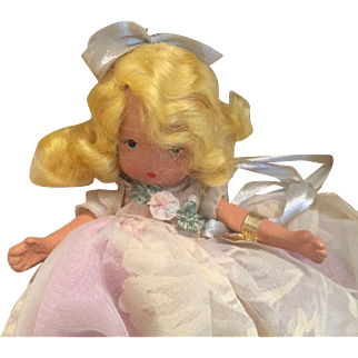 MIB Nancy Ann Storybook Doll Tuesday's Child