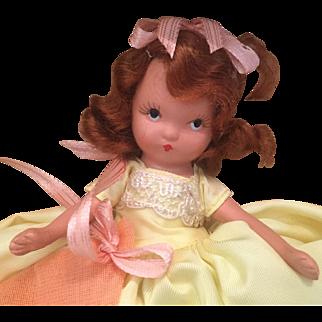 MIB  Bisque Nancy Ann Storybook Doll Wednesday's Child