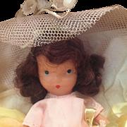 MIB Nancy Ann Storybook Bisque Doll Bridesmaid