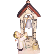 Goebel Spotl Figurine Angel Ringing Chapel Bell TMK 2 Full Bee Mark