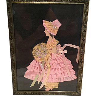 Vintage Southern Belle Ribbon doll picture