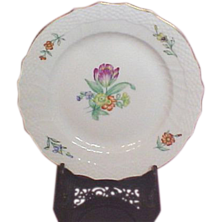 "Royal Copenhagen Floral 6"" Bread and Butter Plate, 1953"