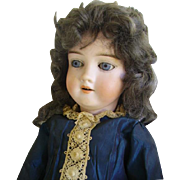 "Antique Kley & Hahn German Bisque Doll 21"" Mold 250: Backstamped K.H."