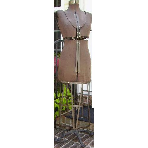 Antique Victorian Dress Form Mannequin Metal Cage Skirt SOLD on ...