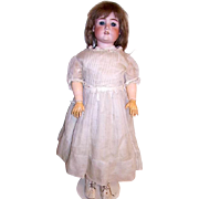 "Max Handwerck Large 31"" Bisque Head Doll"
