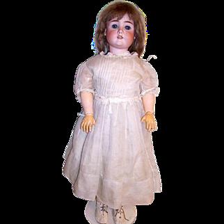 "Max Handwerck Large 31"" Bisque Head Doll"