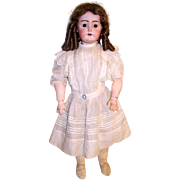 "Antique German 28"" K.R. Bisque Head Doll Kammer Reinhardt Doll"