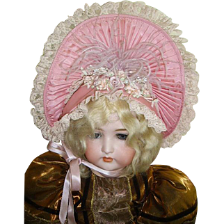 """Stunning Costume Hat for French Bebe/German 30"""" Doll"""