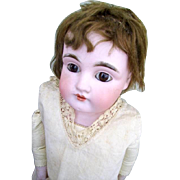 German Bisque Doll Kid Body 21""