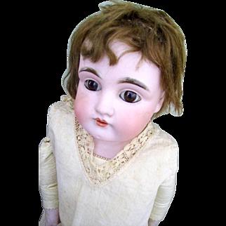 """German Bisque Doll Kid Body 21"""""""