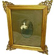 Early French Ormolu Victorian Picture Frame