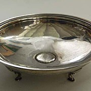 Antique SILVER CENTERPIECE - Romanesque BOWL (solid silver)