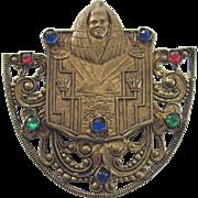 19th Century Egyptian Revival Brooch