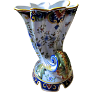 Brillliant French Desvres Faience Fourmaintraux 19th Century
