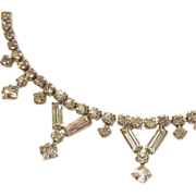 Gorgeous Bridal Gustave Sherman Necklace Swarovski Crystals